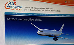 Asti Aircraft Services-Sito Internet